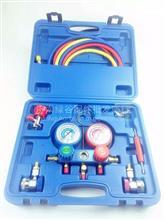 汽车空调加氟表雪种压力表冷媒双表阀空调维修工具设备家用R134a