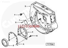 康明斯柴油发动机 70657 飞轮指示孔盖 戴纳派克CP2100轮胎压路机/hjy