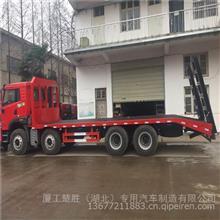 解放悍V310马力挖机平板拖车/CA3310P1K2L3T4BE5A80