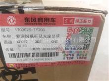 东风天龙旗舰变速操纵杆及支座总成/1703025-TY200