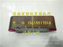 潍WP12发动机机油冷却器芯/ 612700010021