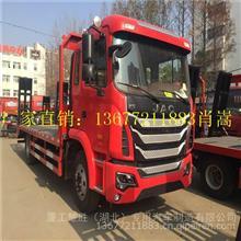 江淮前四后八拉300的挖机拖车/HFC5311TPBP1K4H38S3V