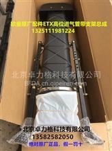 福田戴姆勒欧曼原厂配件 年度型ETX 高位进气管带支架总成/1325111981224