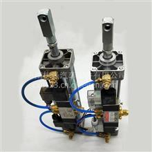 中巴车门泵气缸客车校车气动折叠门门泵总成带电磁阀气动门泵/102