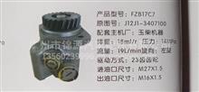 阜新德尔玉柴FZB17C7助力泵/J12J1-3407100