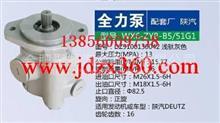 陕汽全力泵DZ9100130042浅驼灰色/转向器助力泵液压件厂家批发价格