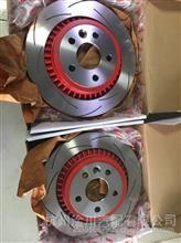 沃尔沃VOLVO XC60 原装TRW 红色改装 后刹车盘 后制动盘/VOLVO 沃尔沃全车配件