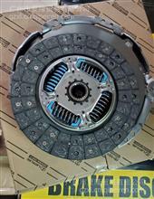 丰田考斯特250离合器片/31250-26232