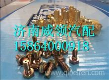 61460070014潍柴发动机回油管空心螺丝