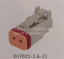 2孔接插件 挖掘机插头 雾灯改装插头DJ3021Y-1.6-21/DJ3021Y-1.6-21