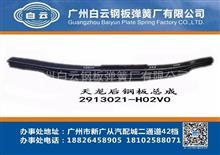 东风商用车 天龙重卡 轻赢版 350马力 H02V0 后钢板总成/ 2913021-H02V0