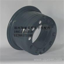柳工叉车轮毂钢圈后轮650-10改装双胎加厚轮辋钢圈前轮胎28-9-15/重型车钢圈总汇