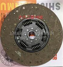东风天龙离合器430拉式大八簧大孔离合器片,抗烧耐磨/1601130_ZB601_K,DZ1560160020