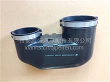 陕汽德龙X3000/康明斯空气滤清装置弯管/DZ93259190066