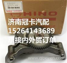 广汽进口日野700搅拌车P11C发动机机油泵/广汽700泵车搅拌车配件