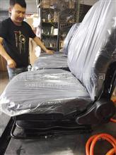 陕西博泰各类改装驾驶座椅总成 机械减震上下调节带旋转座椅厂家