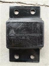 重汽豪沃后钢板缓冲胶垫/AZ9114520091
