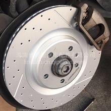 奥迪A8L原厂卡钳替换安装ECFRONT高碳刹车盘增强制动性能/2