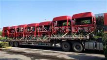 德龙新M3000高顶驾驶室总成 珠光钼红驾驶室/专业事故车配件