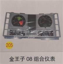 重汽配件金王子组合仪表08款组合仪表原厂装车件/WG9318580001