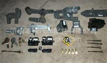陕汽德龙新M3000X3000X5000潍柴WP7WP6发动机左前支架,13039365