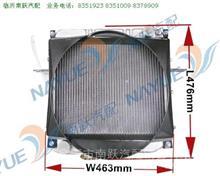 福田小卡之星 BJ1022汽车水箱散热器 铝 带风圈 1102213100062/1102213100062