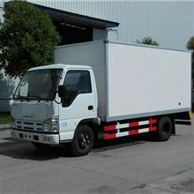 蓝牌面包冷藏车改装厂 江铃双排气刹3米3冷藏车