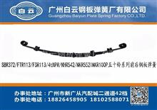 白云钢板   五十铃 SBR372/FTR113/FSR113/4tNPR//0.9x60x