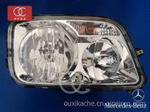 奔驰卡车配件4141/2644/2646前大灯总成改装流光转向灯前大灯