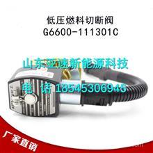 G6600-111301C玉柴天然气发动机低压电磁阀