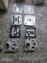 中国重汽汕德卡 豪沃T7H配重汽曼MC11 MC13发动机空压机缸盖总成/201V54100-7121
