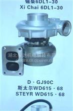 盖迪特增压器 358-4924 依维柯系列IVECO/358-4924