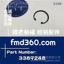 西宁纯原装进口小松PC120-6挖机4D102活塞销卡簧/3389248