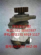 九平柴、6110锡柴转向油泵、叶片泵3407020-AKZ-09/3407020-AKZ-09