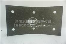 东风EQ145前刹车片14.5mm耐磨之星/白云刹车片