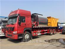 程力厂家直销6吨8吨10吨12吨乳化沥青洒布车同步碎石封层车/clw5080glqkm