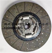 中国重汽亲人配件395离合器片 三级减震从动盘总成 WG9439161003/杭州菲英原厂离合器压盘
