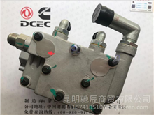 东风天龙大力神 康明斯打气泵双缸空压机空气压缩机5285437