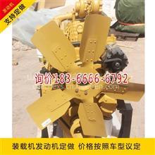 供应龙工855B铲车液压油机油散热器 潍柴wd615发动机总成/装载机发动机