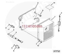 Cummins康明斯柴油发动机  传感器 3865312 感应塞/klj
