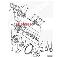 Cummins康明斯柴油发动机 衬垫 206576 增压器衬垫/kju