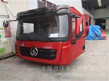 陕汽德龙X3000 8X4公路运输自卸车中国红驾驶室总成及车身覆盖件/德龙X3000