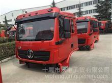 陕汽重卡L3000 4X2混合动力环卫车驾驶室总成及事故车件一应俱全/陕汽德龙