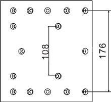 四川现代A型后桥16孔;中心距176MM制动刹车片;/摩擦片总成