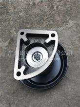 长期供应东风天锦EQ4H风神发动机原装风扇皮带轮及风扇支架总成/1308023-E1100
