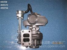 东GTD增适用小松PC210-8 SAA6D107E-1;HX35W Assy:4045172;turbo /HX35W增压器;Cust:4955746;