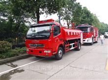 山东滨州东风6吨水罐消防车东风泡沫消防车厂家价格