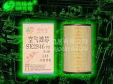 三议合福田新欧曼380/375/ETX/GTL货车空滤K2846空气滤清器滤芯/SK2846PU