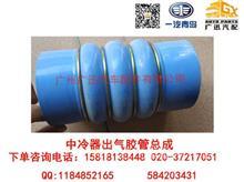 一汽青岛解放龙V/CA3223NM中冷器出气胶管总成/1119060K1H