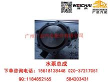 潍柴动力WP6/226B水泵总成/12159770